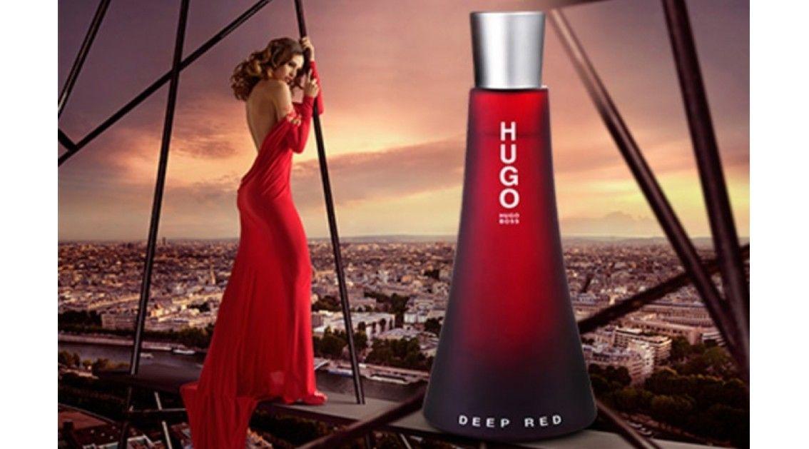 Conheça a nova fragancia da Hugo Boss - Deep Red, para mulher.