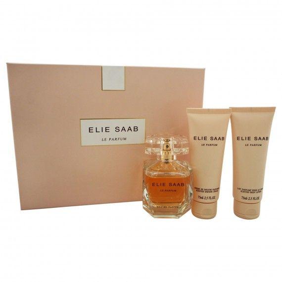 Elie Saab Le Parfum Eau de Parfum 90ml + Body Lotion 75ml + Shower Gel 75ml