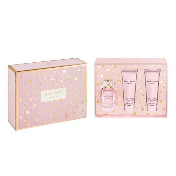 Elie Saab Le Parfum Rose Couture Eau de Toilette 50ml + 2 Body Lotion 75ml