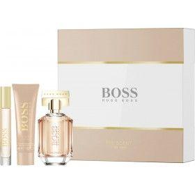 Hugo Boss The Scent For Her Eau de Parfum 50ml + Body Lotion 50ml + Mini Eau de Parfum 7,4ml