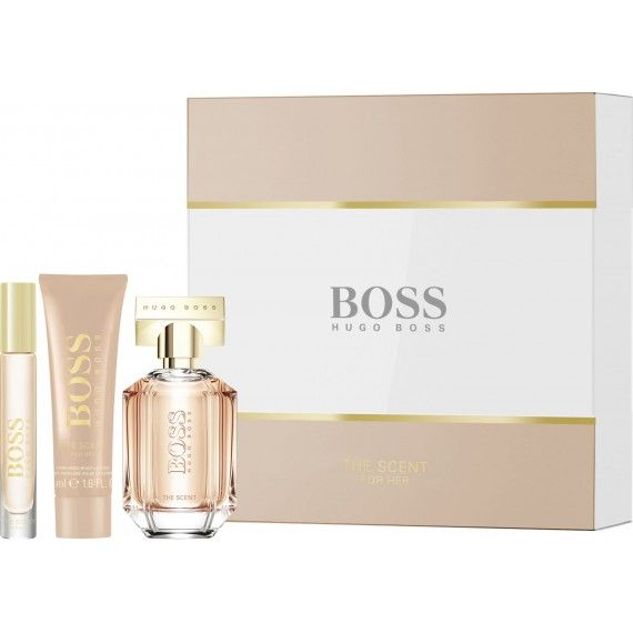 Hugo Boss The Scent For Her Eau de Parfum 50ml + Body Lotion 50ml + Mini Eau de Parfum 7,4ml