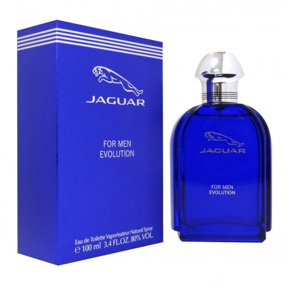 Jaguar for Men Evolution