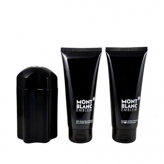 Montblanc Emblem Eau de Toilette 100ml + After Shave Bálsamo 100ml + Shower Gel 100ml