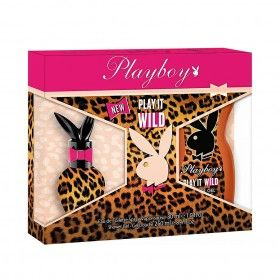 Playboy Play It Wild for Her Eau de Toilette 30ml + Shower Gel 250ml