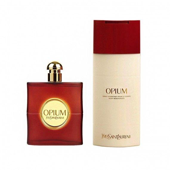 Yves Saint Laurent Opium Eau de Toilette 90ml + Body lotion 200ml