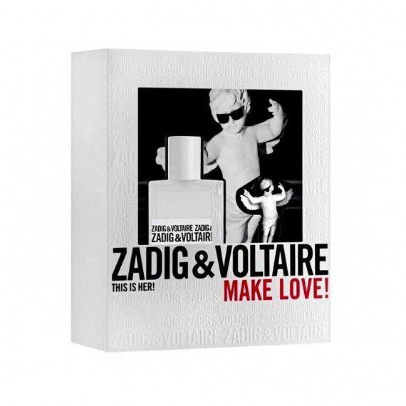 Zadig & Voltaire This is Her Eau de Parfum 30ml + Porta-Chaves