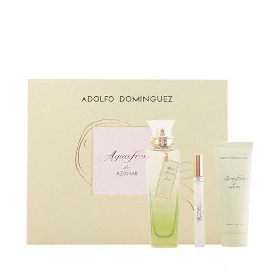 Adolfo Dominguez Agua Fresca Azahar Eau de Toilette 120ml + Body Lotion 75ml + Mini Eau de Toilette
