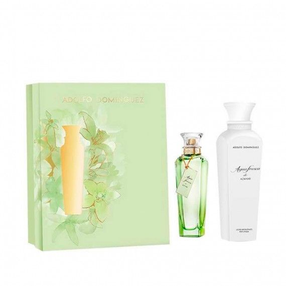 Adolfo Dominguez Agua Fresca Azahar Eau de Toilette 120ml + Body Lotion 300ml