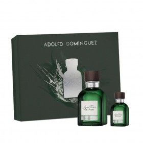 Adolfo Dominguez Agua Fresca Vetiver  Eau de Toilette 120ml + Eau de Toilette 30ml