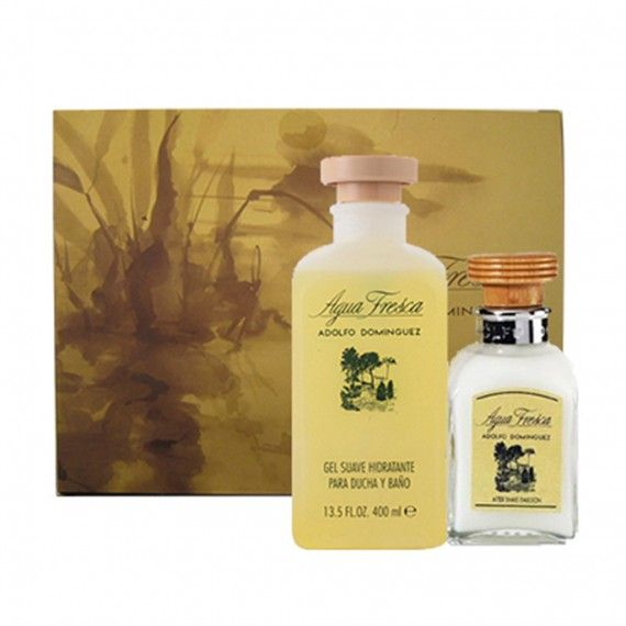 Adolfo Dominguez Agua Fresca Bálsamo 120ml + Shower Gel 400ml