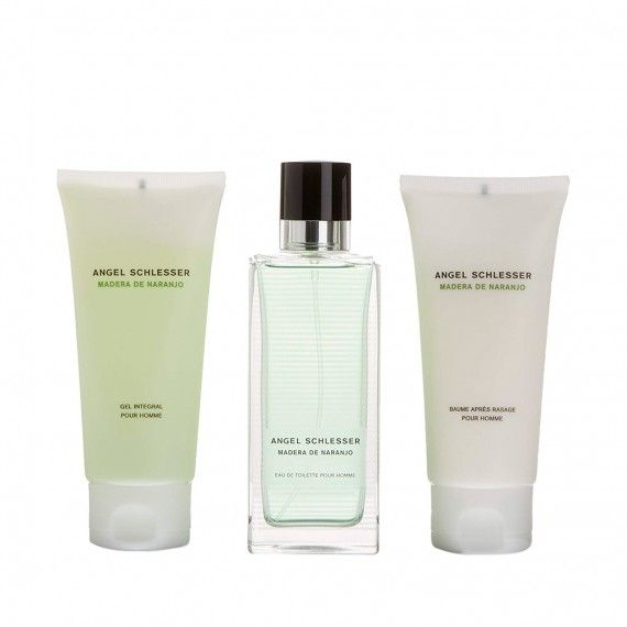 Angel Schlesser Madera de Naranjo Eau de Toilette 100ml + After Shave 100ml + Shower Gel 100ml