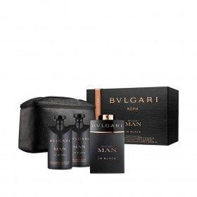 Bvlgari Man in Black Eau de Toilette 100ml + After Shave 75ml + Shower Gel 75ml + Nécessaire