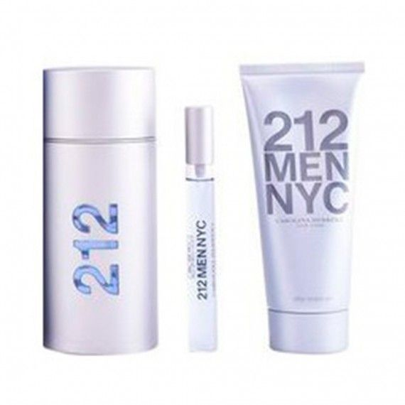Carolina Herrera 212 Men Eau de Toilette 100ml  + After Shave 100ml + Mini Eau de Toilette 10ml
