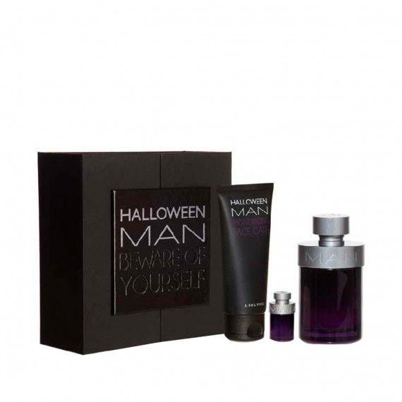 Jesús Del Pozo Halloween Man Eau de Toilette 125ml + After Shave Bálsamo 100ml + Mini Eau de Toilett