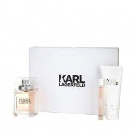Karl Lagerfeld for Her Eau de Parfum 85ml + Body Lotion 100ml + Mini Eau de Parfum 10ml