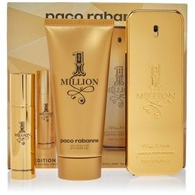Paco Rabanne 1 Million Eau de Toilette 100ml + Shower Gel 75ml + Mini Eau de Toilette 10ml