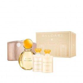 Bvlgari Goldea Eau de Parfum 90ml + Shower Gel 75ml + Body Lotion 75ml + Nécessaire