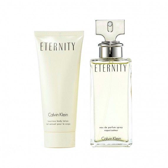 Calvin Klein Eternity Eau de Parfum 50ml + Body Lotion 100ml
