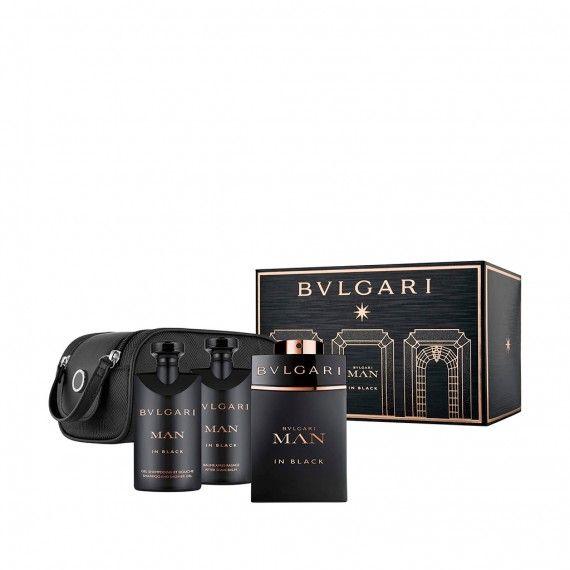 Bvlgari Man In Black Eau de Parfum 100ml + After Shave 75ml + Shower Gel 75ml + Nécessaire