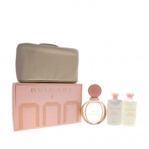 Bvlgari Rose Goldea Eau de Parfum 90ml + Body Lotion 75ml + Shower Gel 75ml + Nécessaire