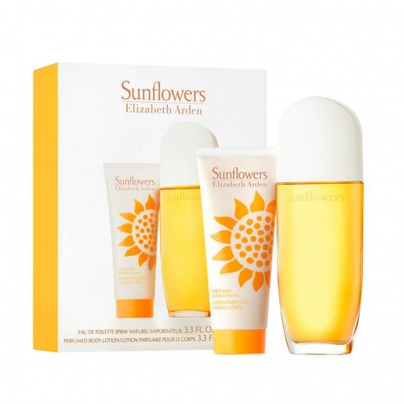 Elizabeth Arden Sunflowers Eau de Toilette 100ml + Body Lotion 100ml