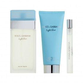 Dolce & Gabbana Light Blue Eau de Toilette 50ml + Body Cream 50ml + Mini Eau de Toilette 7,4ml