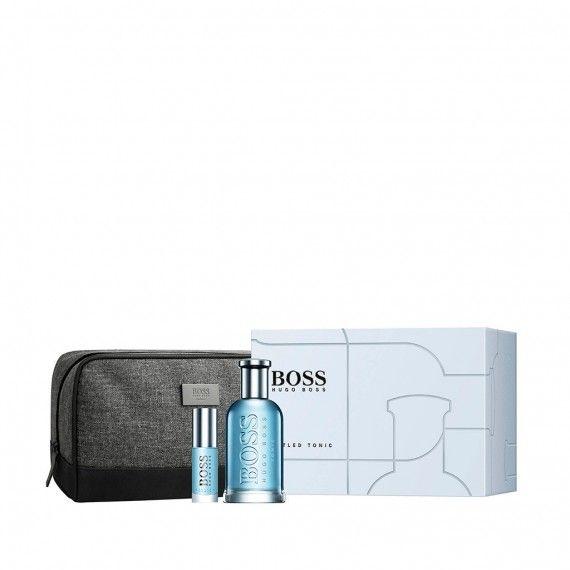 Hugo Boss Boss Bottled Tonic Eau De Toilette 100ml + Mini Eau de Toilette 8ml + Bolsa