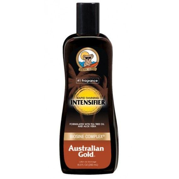 Intensificador de Bronzeado Australian Gold Rapid Tanning em Loção