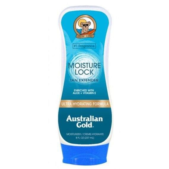 After Sun Hidratante Australian Gold Moisture Lock - Tan Extender