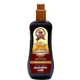 Acelerador de Bronzeado Australian Gold Dark Tanning em Spray Gel