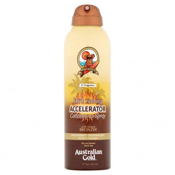 Acelerador de Bronzeado Australian Gold Dark Tanning em Spray