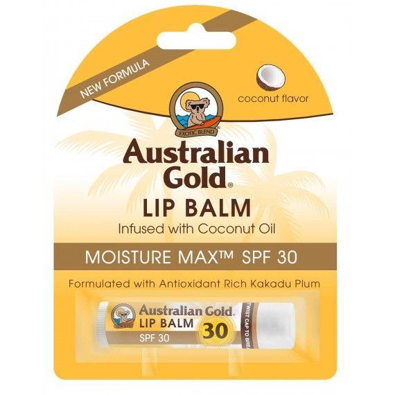 Lip Balm Australian Gold - Batom com proteção solar SPF30