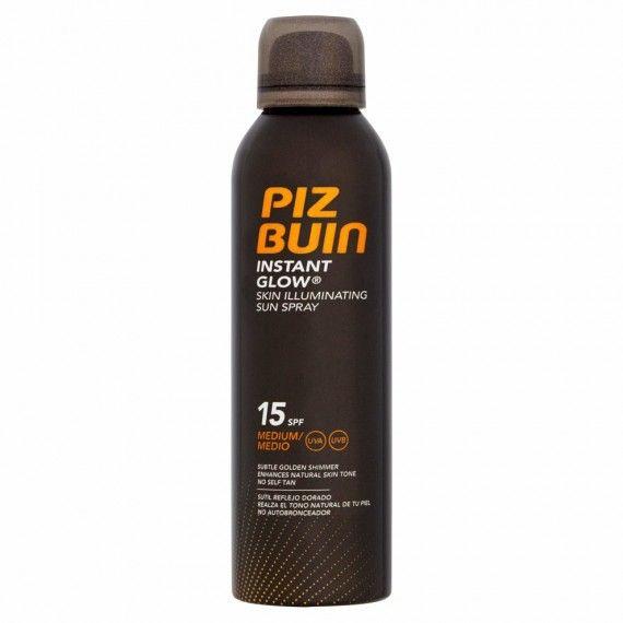 Piz Buin Instant Glow Skin Illuminating Sun Spray SPF15