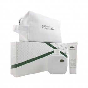 Lacoste L.12.12 Blanc Eau de Toilette 100ml + Shower Gel 50ml + Nécessaire