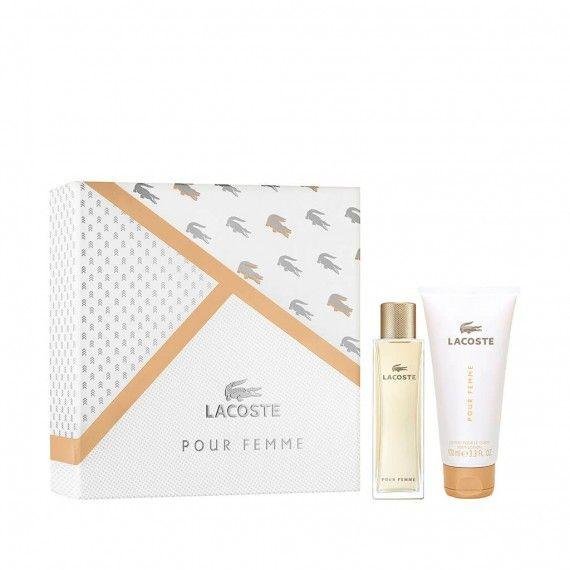 Lacoste Pour Femme Eau de Parfum 50ml + Body Lotion 100ml