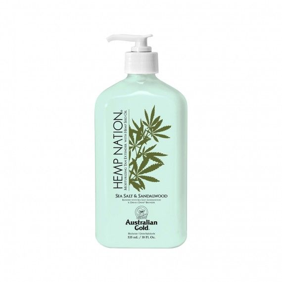 Body Lotion Hidratante Australian Gold Hemp Nation Sea Salt & Sandalwood