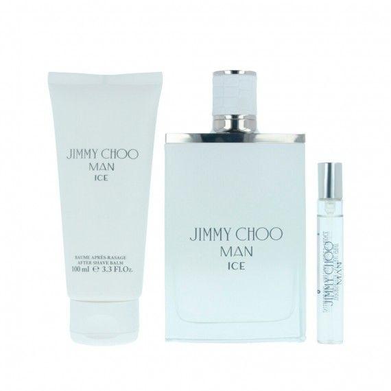 Jimmy Choo Man Eau de Toilette 100ml + After Shave Bálsamo 100ml + Mini Eau de Toilette 7,5ml