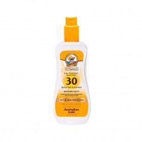 Protetor Solar Australian Gold em Spray Gel SPF30