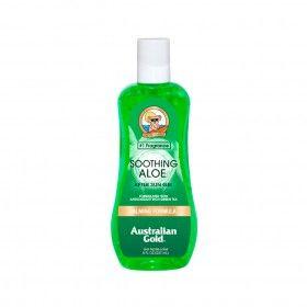 After Sun Gel Australian Gold Soothing Aloe - Regeneração da pele