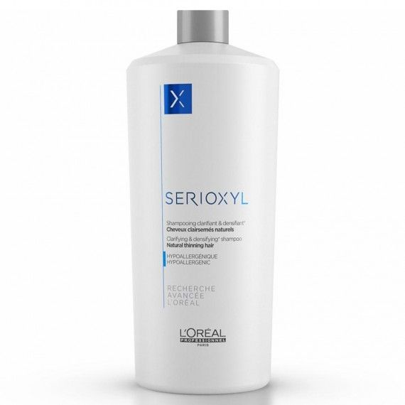 L'Oréal Paris Professionnel Serioxyl Shampoo - Shampoo para Cabelos Naturais e Controlo de Queda
