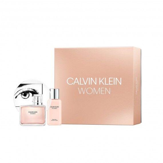 Calvin Klein Women Eau de Parfum 100ml + Body Lotion 100ml