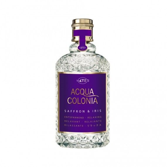 4711 Acqua Colonia Relaxing Saffron & Iris Eau de Cologne