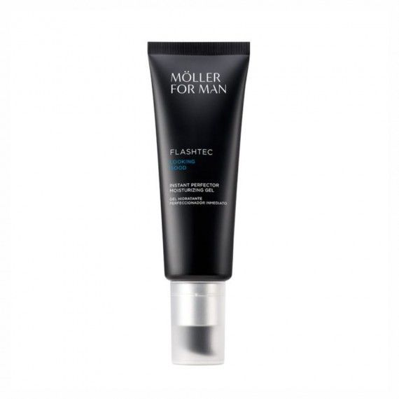Anne Möller For Man Flashtec Looking Good - Gel Hidratante Facial com Cor Suave