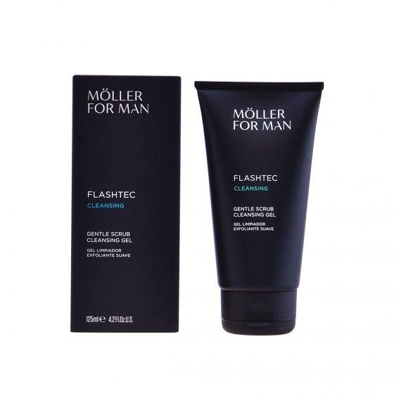 Anne Möller For Man Flashtec Cleansing - Gel de Limpeza Esfoliante para Rosto