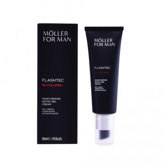 Anne Möller For Man Flashtec Revitalizing - Creme Facial Hidratante Detox em Gel