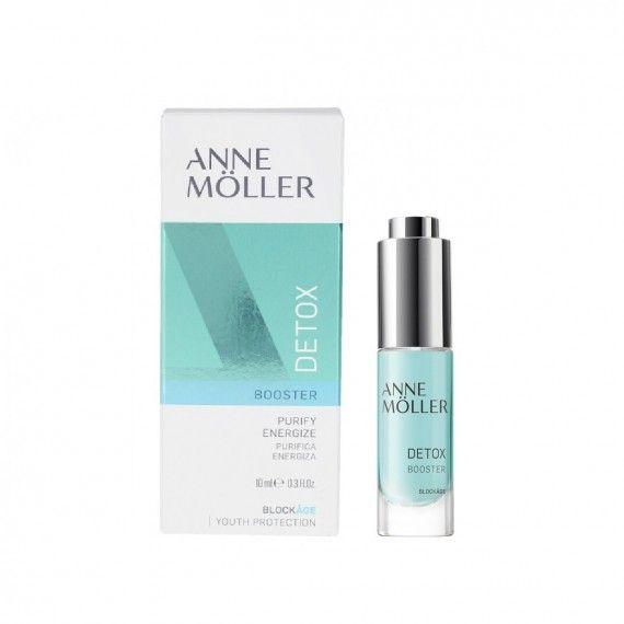Anne Möller Blockâge Detox Booster - Creme Detox Facial para Purificar a Pele