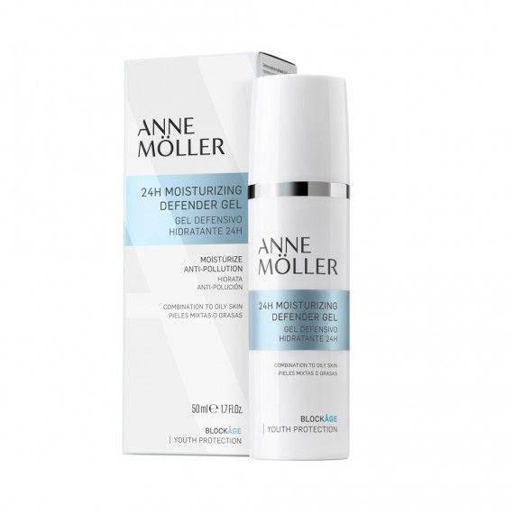 Anne Möller Blockâge 24H Moisturizing Defender Gel - Gel Facial Hidratante 24H