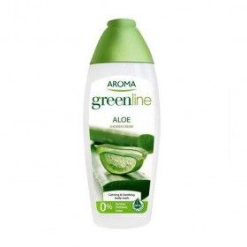 Aroma Green Line Aloe Vera - Shower Cream Calmante e Suavizante