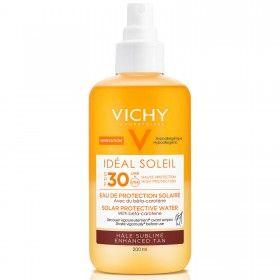 Vichy Idéal Soleil - Água de Proteção Solar Potenciadora de Bronzeado SPF30
