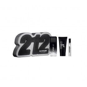 Carolina Herrera 212 VIP Black Coffret Eau de Parfum 100ml + Shower Gel 100ml + Mini Eau de Parfum 1